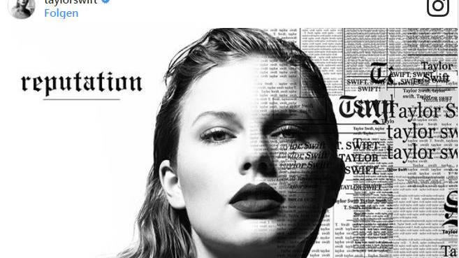 Taylor Swift kündigt neues Album an