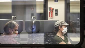 Ab heute gilt Maskenpflicht im Zug.