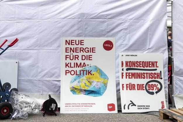 Klimaschutz, der Kampf gegen hohe Gesundheitskosten, Job-Chancen für über 50-Jährige und die Gleichstellung sind die Hauptthemen im Wahlkampf der SP.