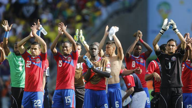 Costa Rica steht als Gruppensieger fest