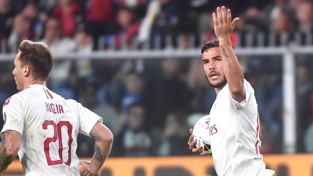 Rodriguez-Konkurrent trifft bei Milan-Sieg