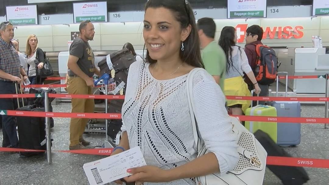 ESC: Mélanie René auf dem Weg nach Wien