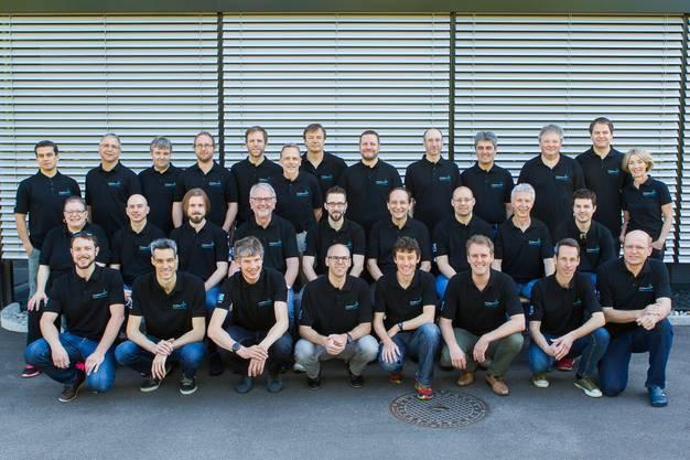 Die 30 Mitarbeitenden der Curtis Instruments AG in Biberist