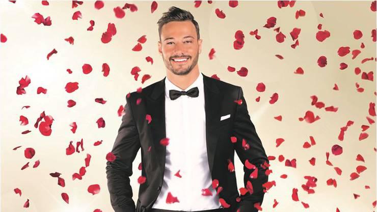 Er ist der neue Bachelor: Clive Bucher, 26 Jahre alt, tätowiert, Geschäftsmann aus dem Kanton Aargau.