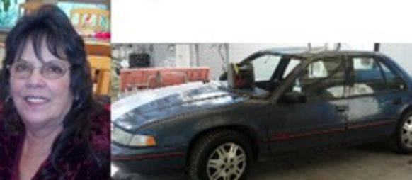 Sharon Lee Leaming war fünf Tage in ihrem Auto eingeklemmt.