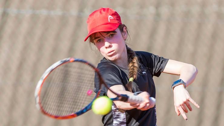 Die Junioren Aargauer Meisterin Tanja Siegrist, die jüngst im Tessin an den Junioren Schweizer Meisterschaften überzeugen konnte, will in Oberentfelden stark aufspielen.