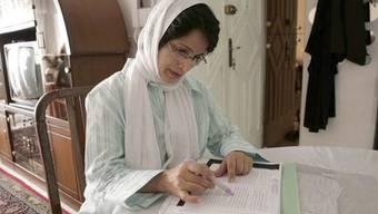 Nasrin Sotudeh im September 2010 (Archiv)
