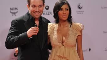 Mal roter Teppich, mal unglamouröses Familienleben: Schauspieler Christian Ulmen und seine Frau Collien Fernandes.(Archivbild)