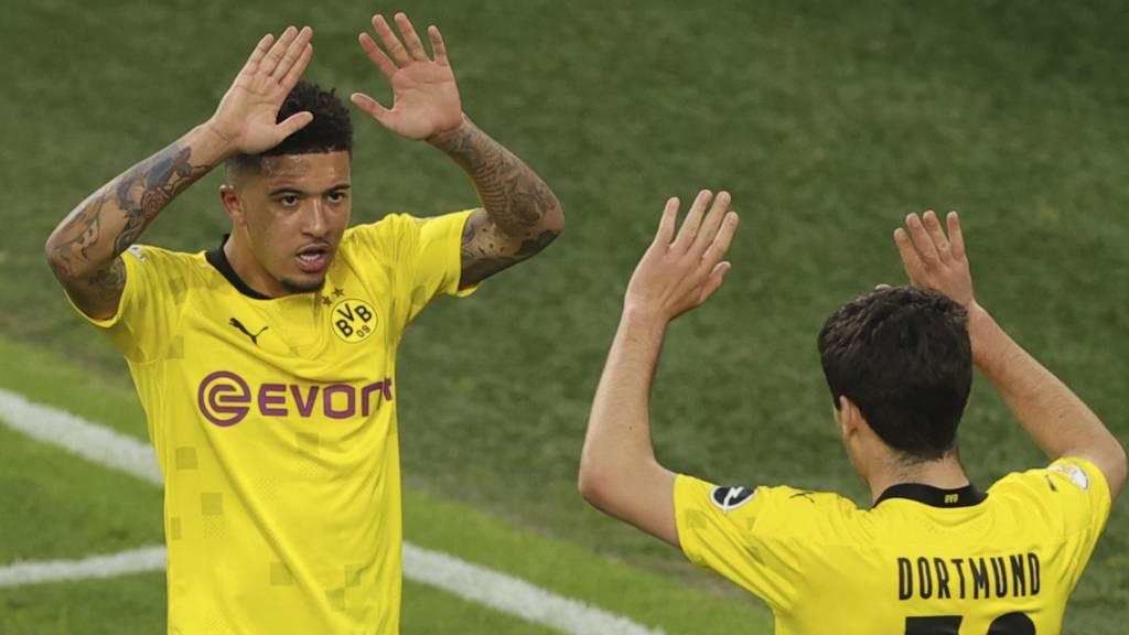 Dortmund mit Kantersieg im Cupfinal
