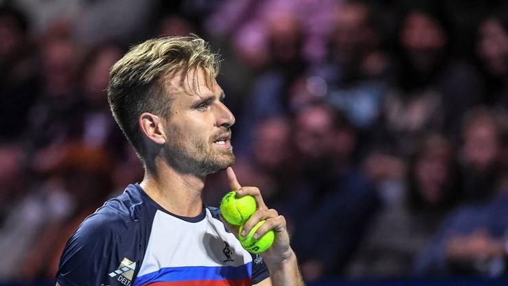 Peter Gojowczyk hatte gegen Roger Federer keine Chance.