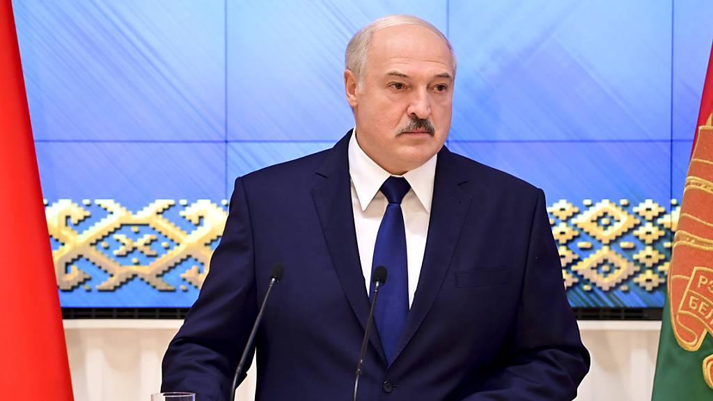 Alexander Lukaschenko, Präsident von Belarus. Foto: Andrei Stasevich/BelTA/AP/dpa