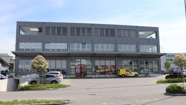 Zu teuer: Die Räumlichkeiten im mittleren Stock des Gewerbehauses Geelig.