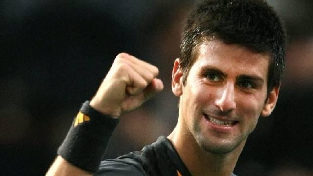 Novak Djokovic setzte sich in seinem Startspiel durch