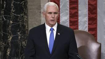 Macht seit Mittwoch einen regelrechten Sinneswandel durch: Vizepräsident Mike Pence.