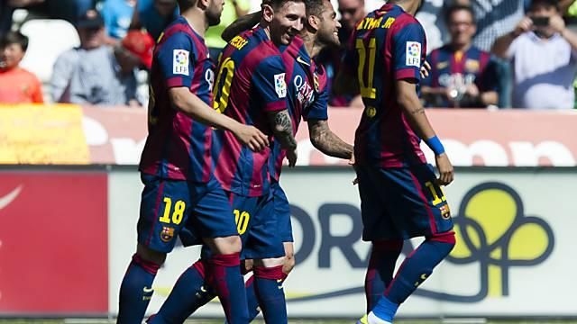Lionel Messi schoss seine Saisontore 50 und 51