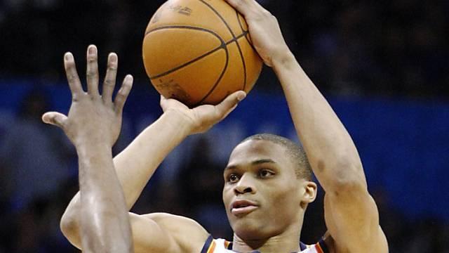 Oklahomas Russell Westbrook war gegen Portland überragend