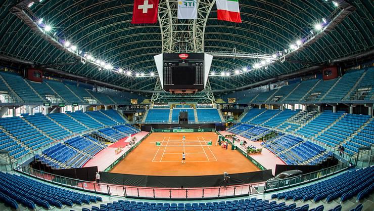 Die Schweiz trifft ab Freitag in der Adriatic Arena von Pesaro im Davis-Cup-Achtelfinal auf Italien.