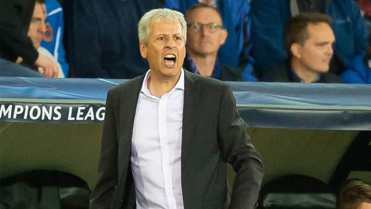BVB-Trainer Lucien Favre.