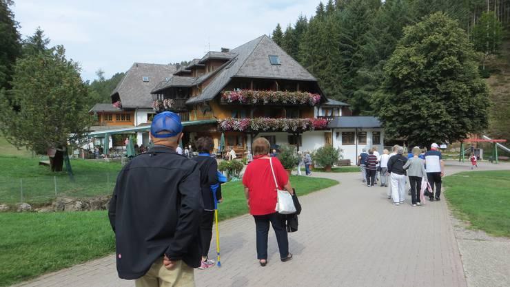 """Angekommen im Schwarzwaldgasthof """"Tannenmühle"""""""