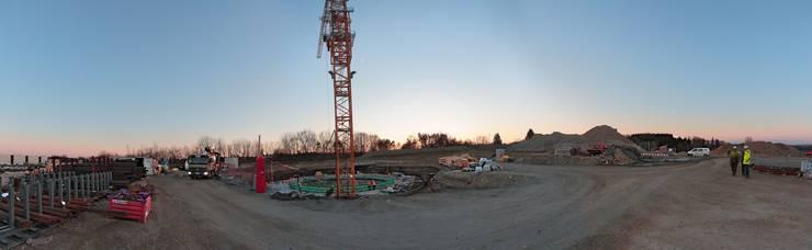 Bilder vom Bau.