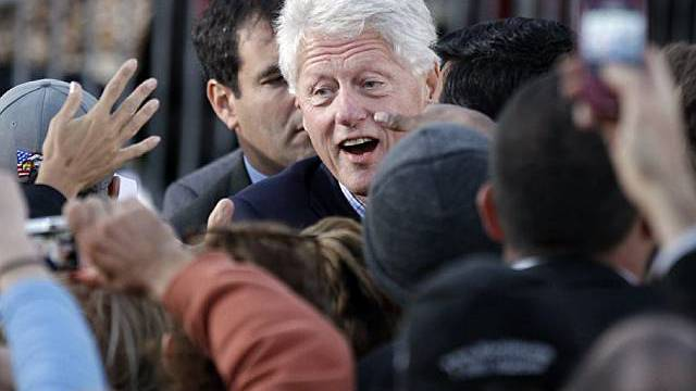 Bill Clinton unterstützt Obamas Nachfolger in Illinois