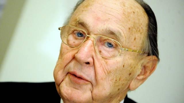 Hans-Dietrich Genscher feiert den 85. Geburtstag (Archiv)