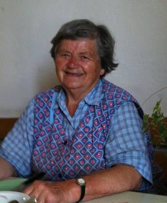 Trudi Märki, Rüfenach