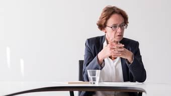 «Wenn Basel ein Restaurant wäre, dann würde die Beiz laufen. Das Konzept der Stadt funktioniert»: Regierungsrätin Eva Herzog (SP).