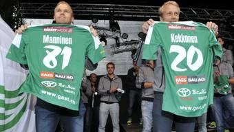 Die beiden Finnen Jami Manninen und Riku Kekkonen sind neu ins Team gestossen.