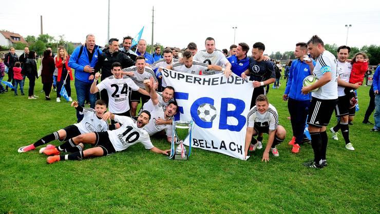 Der FC Bellach konnte den Solothurner Cup letzte Saison gewinnen.
