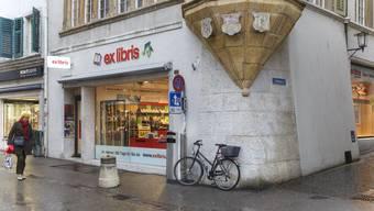 Schliessende Läden in Solothurn
