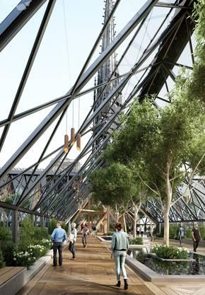 Entwurf von Miysis Studio für den Wiederaufbau von Notre Dame