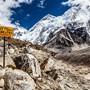 Hier entlang zum Basislager: Der Mount Everest lockt zunehmend auch weniger geübte Bergsteiger. Nepal will nun Gegensteuer geben.
