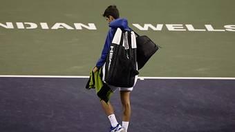 Novak Djokovic und Co. mussten Indian Wells unverrichteter Dinge verlassen