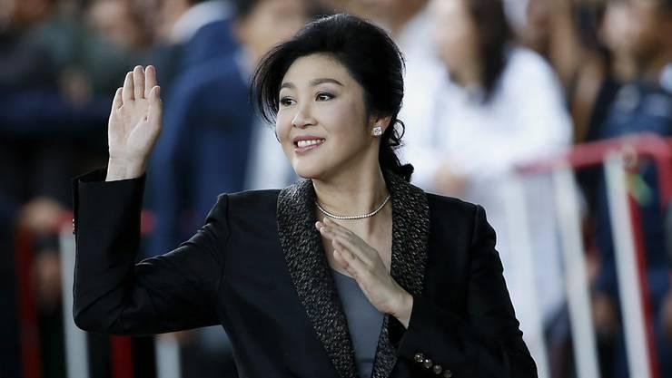 Sie floh noch vor dem Urteilsspruch ins Ausland, Thailands Ex-Regierungschefin Yingluck Shinawatra (Archiv)