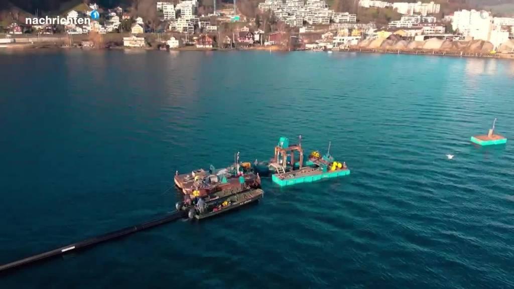 Eröffnung der neuen See Energie-Zentrale in Horw