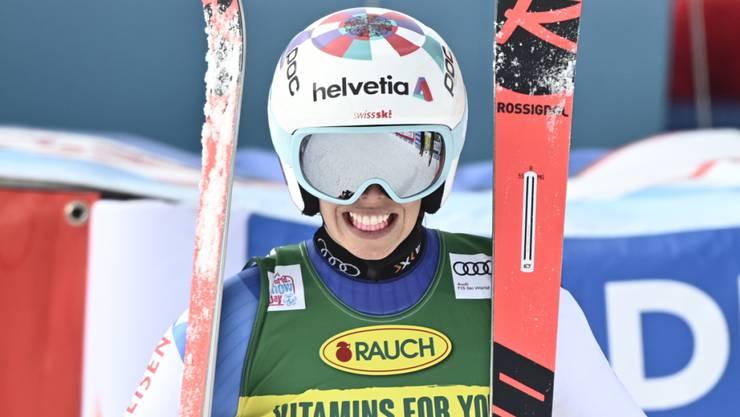 Michelle Gisin verpasste in Sölden als Vierte ihren ersten Podestplatz im Riesenslalom nur knapp