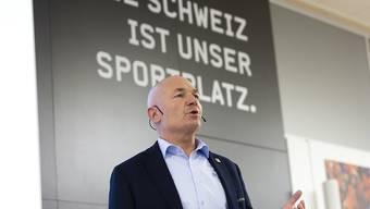 """Ligadirektor Denis Vaucher nach Abbruch der Eishockey-Saison: """"Das ist ein schwarzer Tag fürs Schweizer Eishockey, der die Klubs vor immense finanzielle Konsequenzen stellt"""""""