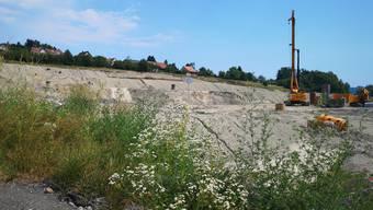 Das SMDK-Areal (mit dem Grossloch-Bohrer) erinnert heute an eine Wüstenlandschaft.