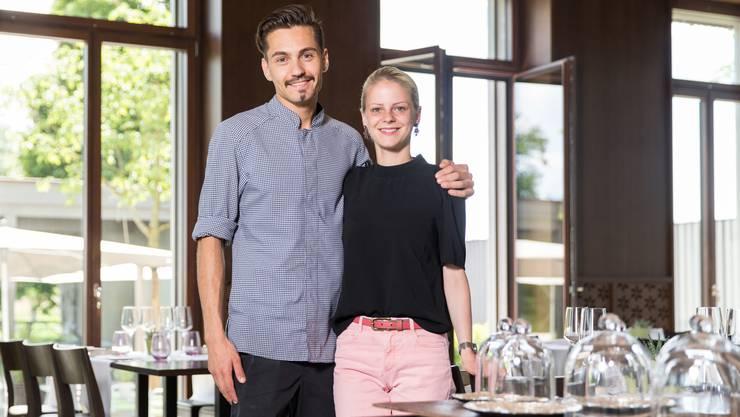Alexandra von Allmen und Manuel Steigmeier führen das Restaurant Fahr in Sulz bei Künten.