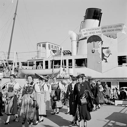 Trachtenfest Luzern 1939.