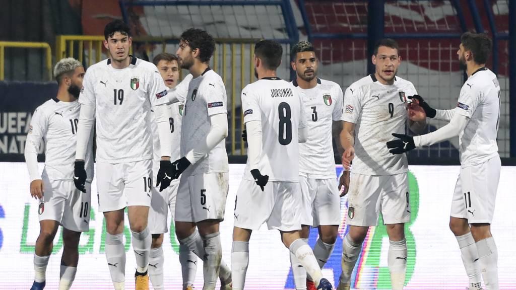 Italien und Belgien nach Siegen am Final Four