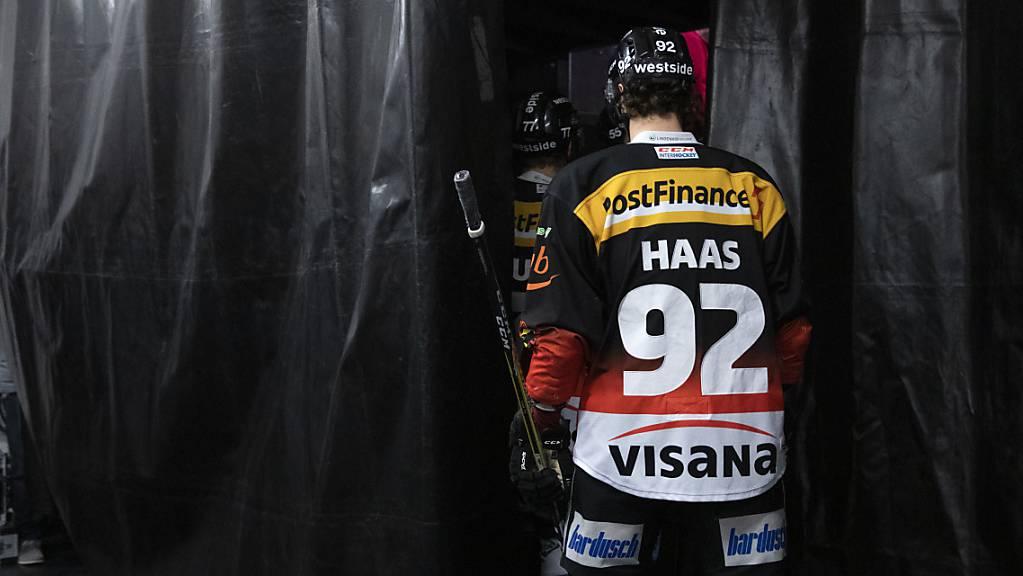 Gaëtan Haas trägt bis Mitte November wieder den SCB-Dress.