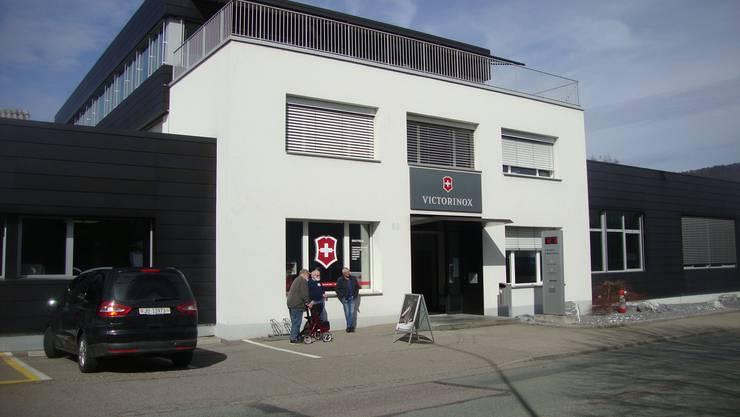 Sitz der VictorInox in Delémont