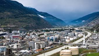 Zwei neue Anlagen bringen 200 neue Arbeitsplätze ins Wallis: Lonzawerke im Visp.