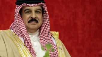 Der König von Bahrain Hamad Ben Issa Al-Chalifa (Archiv)