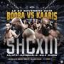 So wirbt der Veranstalter SHC für den Kampf zwischen Booba (l.) und Kaaris (r.).