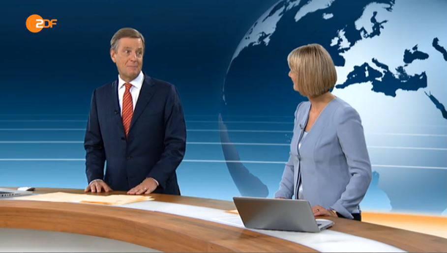 Emotionen im Nachrichten-Studio: ZDF-Moderator den Tränen nahe