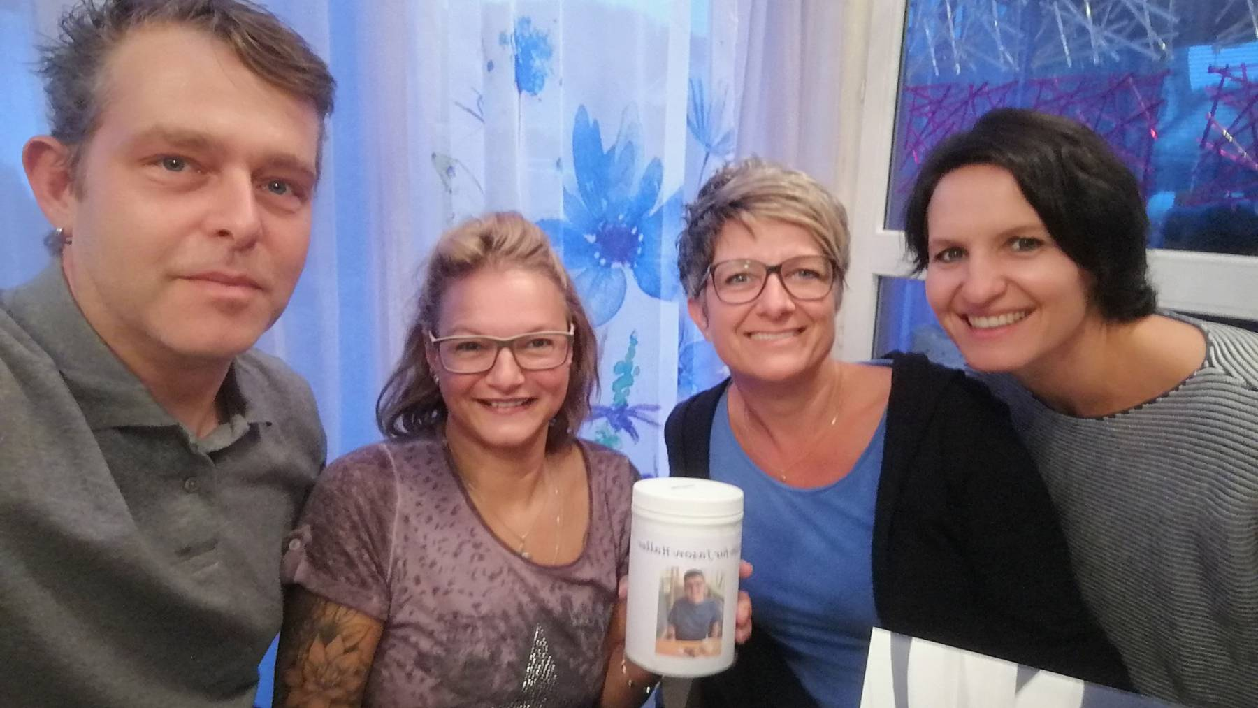 Familie Haller mit Liliane und Doris