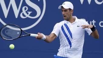 Novak Djokovic überzeugt auch gegen Tennys Sandgren
